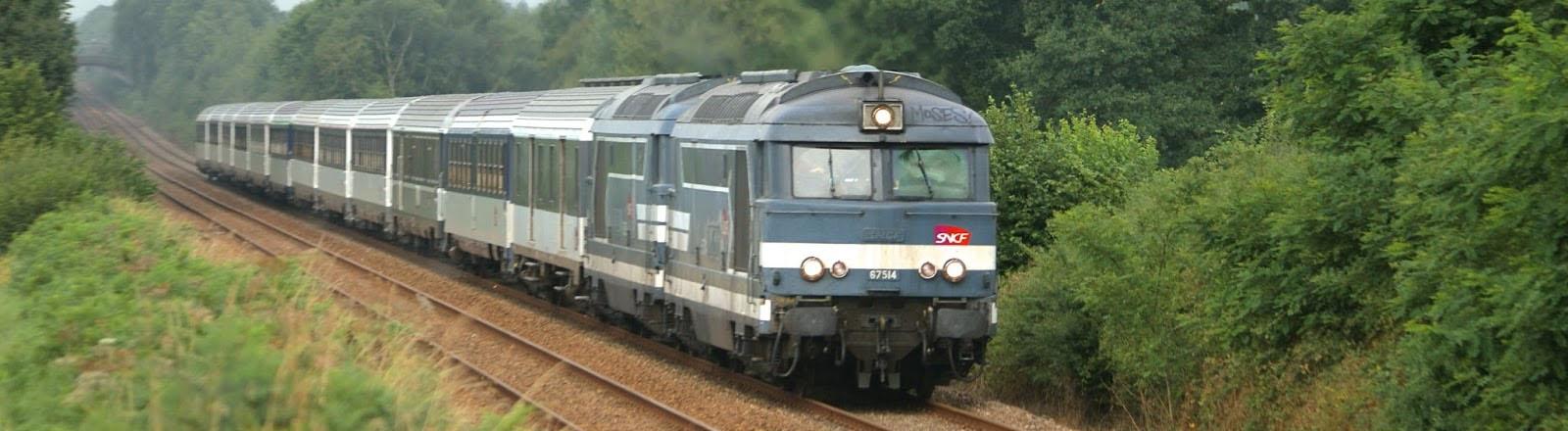 Un train corail