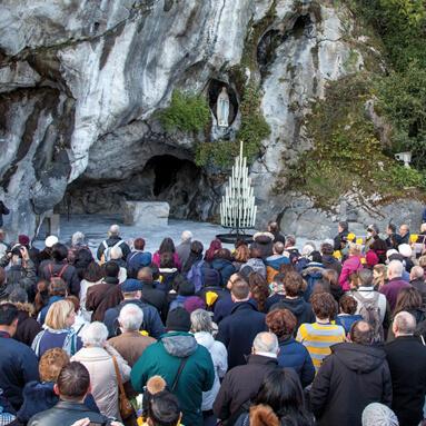 The authentic pilgrimage in Lourdes