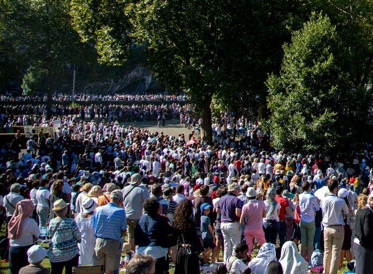 Photos et vidéos : retour en images sur la fête du 15 août au Sanctuaire de Lourdes