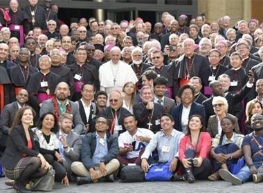 Dimanche 28 octobre :  clôture du Synode sur les jeunes  Synthèse du document final