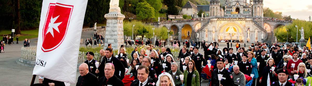 Calendrier Des Pelerinages Lourdes 2019.Du 3 Au 7 Mai 2019 61e Pelerinage International De L Ordre