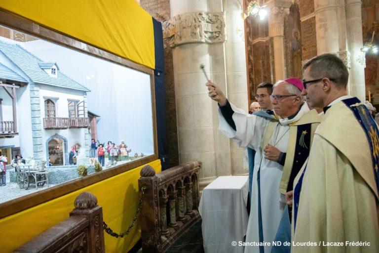 At the Rosary Basilica